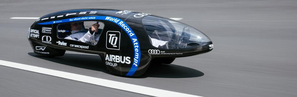 Most efficient electric vehicle